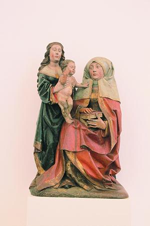 Een aan Jan van Steffeswert toegeschreven Anna-te-Drieën. foto Zuiderlucht