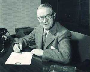 Lego-oprichter Ole Kirk Christiansen (1891-1958).