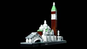 Venetië, nagebouwd met Lego Architecture.